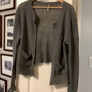 Free People cardigan.